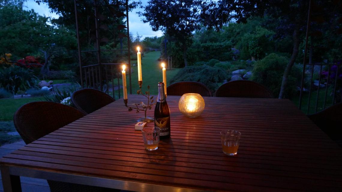 """Rhodo-runde og så en """"slapper"""" på terrassen"""